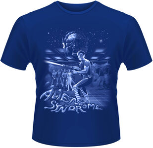 Idee regalo T-Shirt uomo Sega. Alien Syndrome Plastic Head
