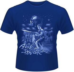 Idee regalo T-Shirt uomo Sega. Alien Syndrome Plastic Head