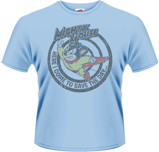 Idee regalo T-Shirt uomo Mighty Mouse. Save the Day Plastic Head
