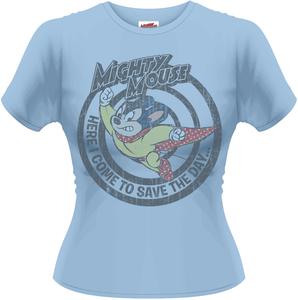 Idee regalo T-Shirt donna Mighty Mouse. Save the Day Plastic Head