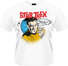 T-Shirt uomo Star Trek. Beam Me Up Scotty