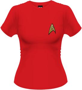 Idee regalo T-Shirt donna Star Trek. Ops Plastic Head