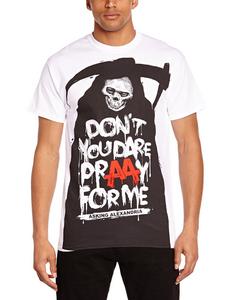 Idee regalo T-Shirt unisex Asking Alexandria. Afterlife Plastic Head