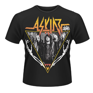 Idee regalo T-shirt unisex Asking Alexandria. Skeleton Arms Plastic Head