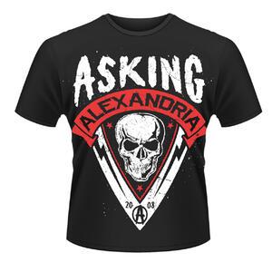 T-shirt unisex Asking Alexandria. Skull Shield