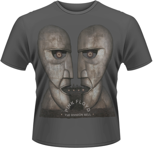 Idee regalo T-Shirt uomo Pink Floyd. The Division Bell Plastic Head