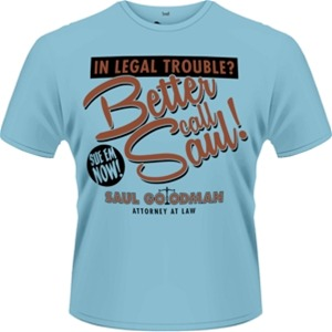 Idee regalo T-Shirt uomo Breaking Bad. Better Call Saul Plastic Head
