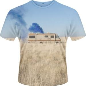 T-Shirt uomo Breaking Bad. Trailer