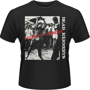 Idee regalo T-Shirt uomo Dead Kennedys. Holiday in Cambodia Plastic Head