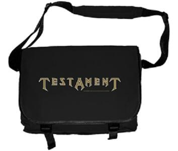 Testament. Logo Messenger Bag