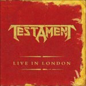 Live in London - Vinile LP di Testament