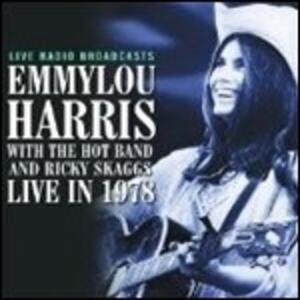 Live in 1978 - Vinile LP di Emmylou Harris