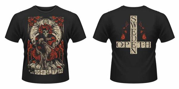 Idee regalo T-Shirt unisex Opeth. Haxprocess Front & Back Print Plastic Head