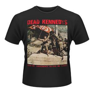 T-shirt unisex Dead Kennedys. Convenience Or Death