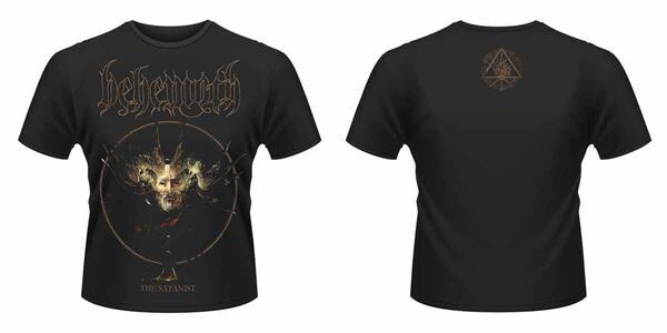 T-Shirt unisex Behemoth. Satanist Album Front & Back Print