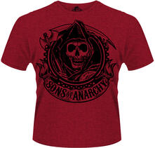 T-Shirt uomo Sons of Anarchy. Reaper Banner