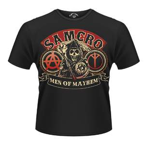 Idee regalo T-Shirt Sons of Anarchy. Samcro Reaper Plastic Head