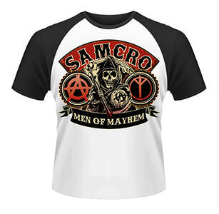 T-Shirt uomo Sons of Anarchy. Samcro Reaper