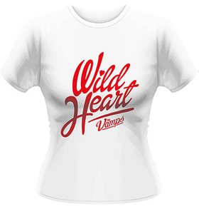Idee regalo T-Shirt donna The Vamps. Wild Heart Plastic Head