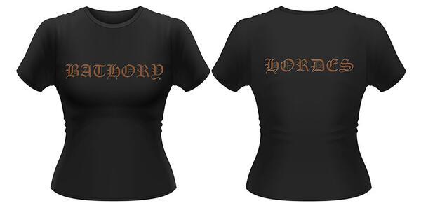 T-Shirt donna Bathory. Hordes