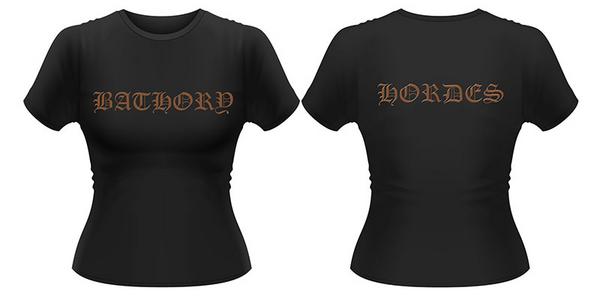 Idee regalo T-Shirt donna Bathory. Hordes Plastic Head