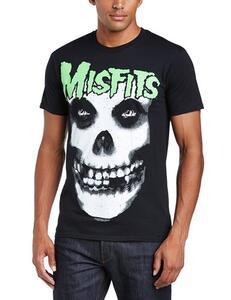 T-Shirt unisex Misfits. Glow Jurek Skull
