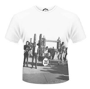 Idee regalo T-Shirt uomo The Who. London Bridge Plastic Head