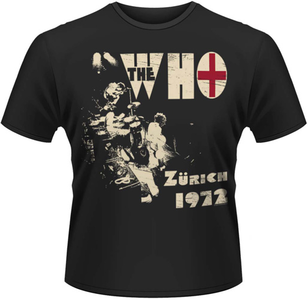 Idee regalo T-Shirt uomo The Who. Zurich 72 Plastic Head