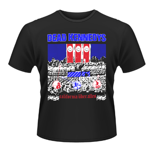 Idee regalo T-shirt unisex Dead Kennedys. California Uber Alles Plastic Head