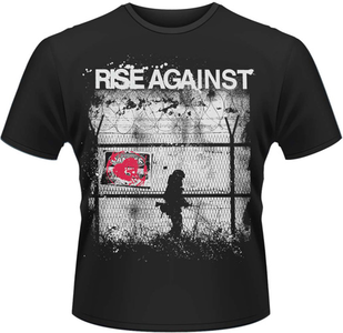 Idee regalo T-Shirt uomo Rise Against. Borders Plastic Head