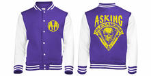 Felpa Girocollo Asking Alexandria. Skull Shield