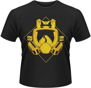 Idee regalo T-Shirt uomo Breaking Bad. Mask Plastic Head