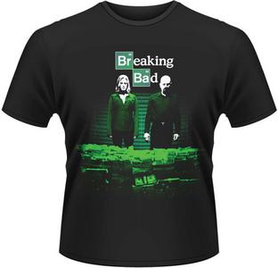 Idee regalo T-Shirt uomo Breaking Bad. Container Stash Plastic Head