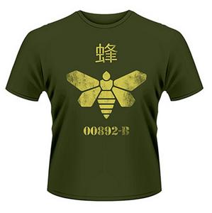 Idee regalo T-Shirt uomo Breaking Bad. Barrel Bee Plastic Head