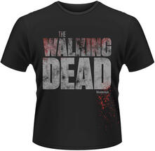 T-Shirt uomo Walking Dead. Splatter