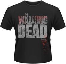 T-Shirt uomo Walking Dead. Splatter