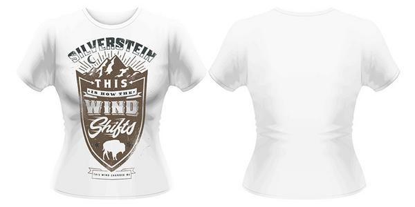 Idee regalo T-Shirt donna Silverstein. Crest Plastic Head