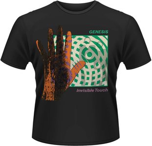 Idee regalo T-Shirt uomo Genesis. Invisible Touch Plastic Head