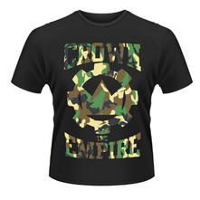 T-shirt unisex Crown The Empire. Run And Hide