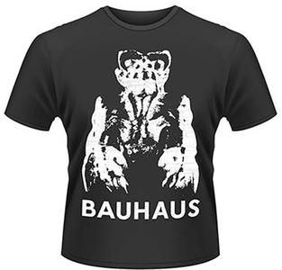 Idee regalo T-Shirt uomo Bauhaus. Gargoyle Plastic Head