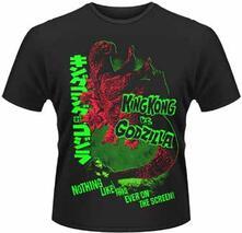 T-Shirt uomo Godzilla. Godzilla Vs King Kong
