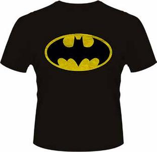 Idee regalo T-Shirt uomo Batman. Original Logo-DC Originals Plastic Head