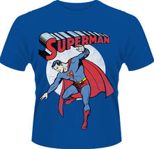 T-Shirt uomo Superman. Vintage Image-DC Originals