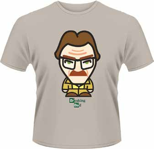Idee regalo T-Shirt uomo Breaking Bad. Walter with Hair Minion Plastic Head