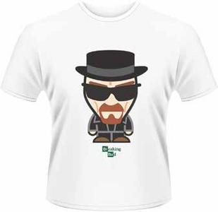 Idee regalo T-Shirt uomo Breaking Bad. Heisenberg Minion Plastic Head