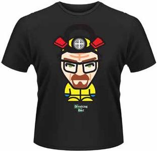 Idee regalo T-Shirt uomo Breaking Bad. Cooking Minion Plastic Head