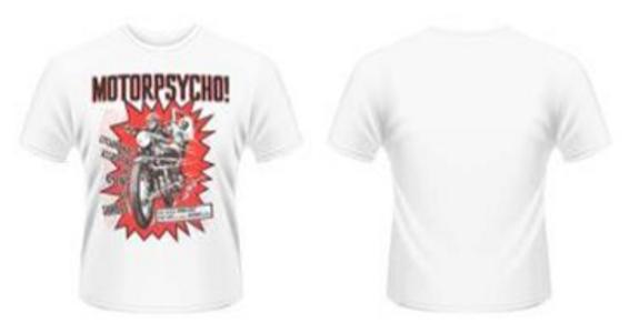 Idee regalo T-Shirt uomo Plan 9 Motorpsycho Plastic Head