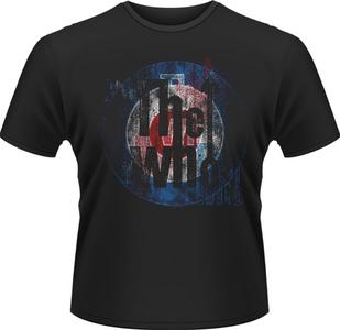 Idee regalo T-Shirt uomo Who. Textured Target Plastic Head