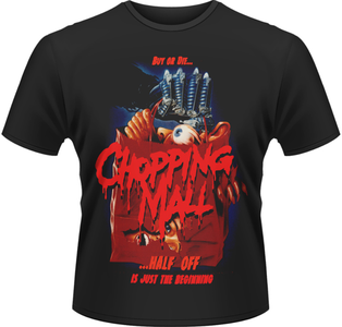 Idee regalo T-Shirt uomo Supermarket Horror Chopping Mall Plastic Head