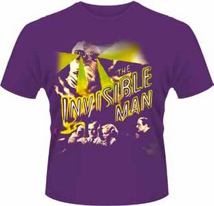 Idee regalo T-Shirt uomo Invisible Man. Invisible Man Plastic Head